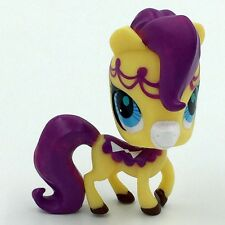 Hasbro Cute Purple Hair Pony LPS Littlest Pet Shop Figure Gift Toy Animals GAL