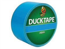 Coloured Duck Duct Gaffer Waterproof Tape AQUA Repair Craft DIY Use