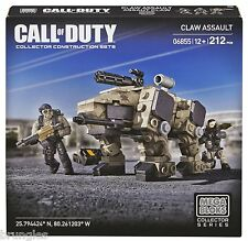 RARE CALL OF DUTY HALO WARS MEGA BLOKS CLAW ASSAULT DCL10 NEW SET RRP £25