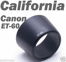 Canon ET-60 ET60 Lens Hood EF-S 55-250mm f/4-5.6 IS 90-300mm f/4.5-5.6  75-300mm