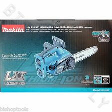 "Makita XCU02Z 36Volt 12"" Chain Saw NEW HCU02ZX2 Cordless 18V x2 Chainsaw"