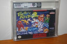 Pocky & Rocky 2 (Super Nintendo SNES) NEW SEALED V-SEAM, MINT VGA 85, SUPER RARE