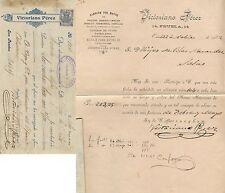 Letra de cambio. Oviedo, 22 de Noviembre de 1902. Número 104.