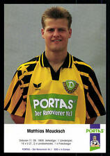 Matthias Maucksch Autogrammkarte Dynamo Dresden TOP + G 10009 OU