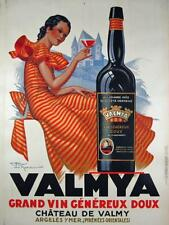 Valmya by Henry Le Monnier Original Vintage Advertising Poster