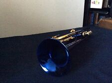 LARGE BORE WOW ! MARTIN COMMITTEE DELUXE ENGRAVING T3465 KIND OF BLUE Bb TRUMPET