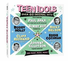 Teen Idols 2-CD NEW SEALED Fabian/Sal Mineo/Marty Wilde/Paul Anka/Ritchie Valens