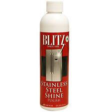 Blitz Stainless Steel Shine Metal Polish - 8oz