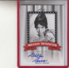"""2011 LEAF POP CENTURY AWARD  DELLA REESE """"TOUCHED BY AN ANGEL"""" AUTO AUTOGRAPH"""