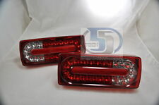 Mercedes G Class W463 G500 G55 WAGON Tail Light Covers LED NEW STYLE RED/Clear L