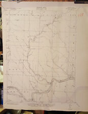 1943 Bitumen Pennsylvania Quadrangle, Corps Of Engineers US Army Tactical Map
