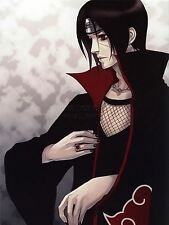 ART PRINT POSTER MANGA ANIME ITACHI UCHIHA NARUTO JAPAN BLACK NAILS NOFL0041