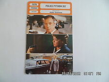 CARTE FICHE CINEMA 1976 POLICE PYTHON 357 Yves Montand Francois Perier Signoret