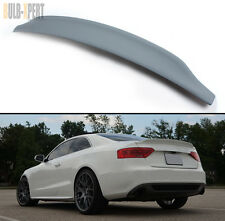 09-2014 AUDI A5 S5 B9 CAT STYLE POLYURETHANE PU PRIMERED TRUNK LID SPOILER WING