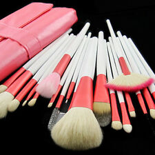 20 Pcs Soft Pink Makeup Brush Set Goat Hair Cosmetic Make up Makeup Brushes