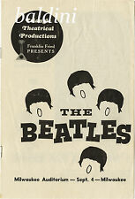 THE BEATLES - HIGH QUALITY EARLY VINTAGE 1964 CONCERT POSTER -LOOKS GREAT FRAMED