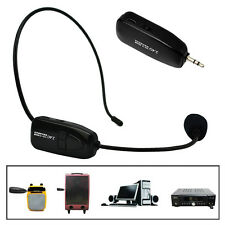 2.4G Wireless Microphone Speech Headset Megaphone RadioMic For Loudspeaker