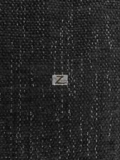 "SPARKLE CHENILLE UPHOLSTERY FABRIC - Black - 57"" WIDTH SOLD BY THE YARD"