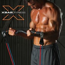 Xbar Fitness Portable Gym Workout System - Personal Home and Office Training Set