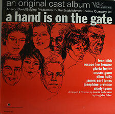 "A HAND IS ON THE GATE - ROSCOE LEE BROWNE 12"" LP  (Q552)"