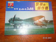 !! Koku Fan Famous Airplanes Of The World n°46 Junkers JU88