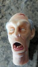 custom painted walking dead zombie head version 3 for 12 inch body