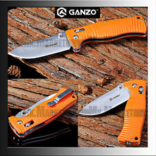 GANZO G720-O · 440C · G10 · Orange · Axis Lock · Genuine GANZO Folding Knife