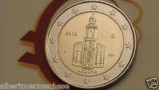 2 euro 2015 fdc Germania Deutschland Allemagne Hessen Paulskirche Francoforte