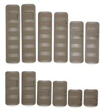 Troy Battle Rail Cover Full Kit - 12 Pack FDE Flat Dark Earth - SCOV-PCK-14FT-00