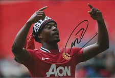 Patrice EVRA Signed Autograph 12x8 Photo AFTAL COA Man United Captain RARE