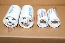 SANYO ENELOOP Spacers Adapters AA to C & D Size Battery 4 Pcs NEW