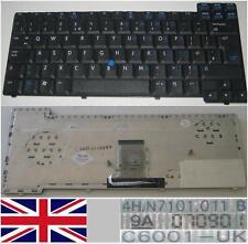 Clavier Qwerty UK HP NC8400 NC8200 NX8420 NX7300 NX7400 407218-031  Noir