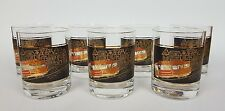 Vtg Couroc Trolly Cable Car San Francisco Mid Century Modern Lowball Whiskey