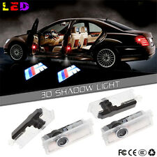 4  LED Car Door Courtesy Laser PROJECTOR LOGO GHOST Shadow Light For BMW M Sport