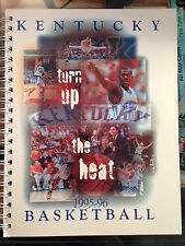 1995-96 Kentucky Wildcats basketball media guide National Champions NM-MT