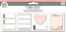 me&my BiG ideas Create 365 PLANNER BASICS Sticky Notes - ROSE GOLD
