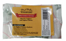 Mad Millie Yoghurt Culture Ideal for Yoghurt and Yoghurt Cheese Making Cultures