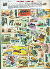 Automobiles 100diff-STAMP PACKET