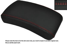 GRIP VINYL BRIGHT RED STITCH CUSTOM FITS YAMAHA XVS 650 DRAGSTAR REAR SEAT COVER