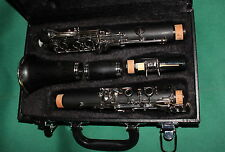 CLARINETTO Sib / Bb NEW ORLEANS EBONITE 18K CHIAVI NICKEL - SCHEMA YAMAHA-BOEHM