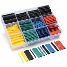 530Pcs 2:1 Heat Shrink Tubing Tube Sleeving Wrap Wire Cable Kit 5 Color 8 Size