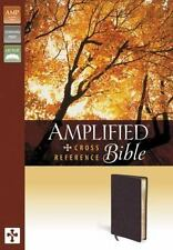Amplified Cross-Reference Bible by Zondervan Staff  / Bonded Leather New in Box