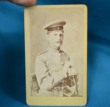 1880 CDV Foto German Deutsches Heer 13th 1st Kurhessian Husar Hussar XVI Army