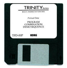 KORG TRINITY FACTORY SOUND CARD DISK DISKETTE