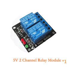 2 Channel Kanal 5V Relais Module Modul für PIC AVR DSP ARM MCU Arduino
