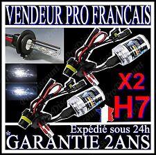 PAIRE LAMPE FEU PHARE DE RECHANGE 2 AMPOULES POUR KIT XENON HID H7 6000k 55W 12V