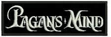 PAGANS MIND EMBROIDERED PATCH HEAVY PROGRESSIVE POWER SPEED Metal Negro