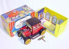 Schuco Germany FORD T COUPE 1917 OLDTIMER Tin Toy Wind-Up Car #1227 NMIB`85 RARE
