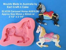 Carousel , Prancing  Horse - Mould Make Cake Toppers Gum Paste Cake Decorating