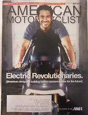 American Motorcyclist Magazine May 2010 Electric Revolutionaries Battery powered